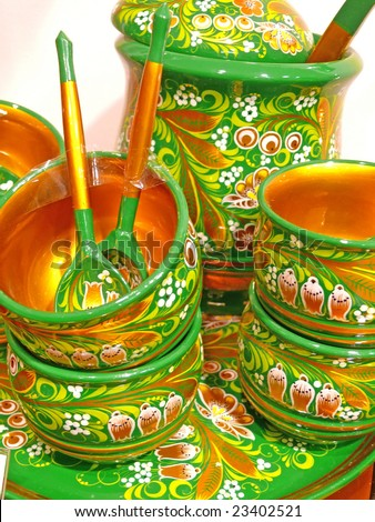 Retro kitchen utensils - stock photo
