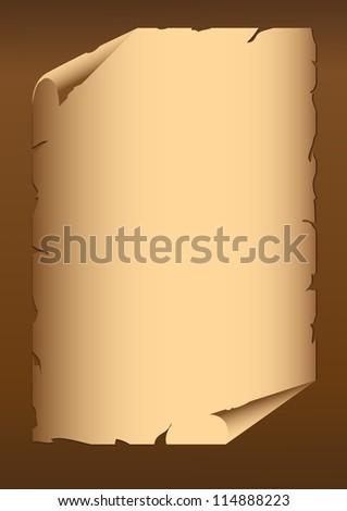 Retro paper - stock photo