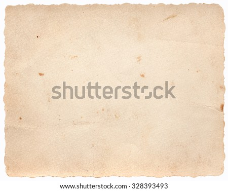 Retro Paper Background - stock photo