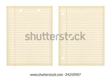 Retro Papers (JPG and Vector versions of this file both available in my portfolio) - stock photo