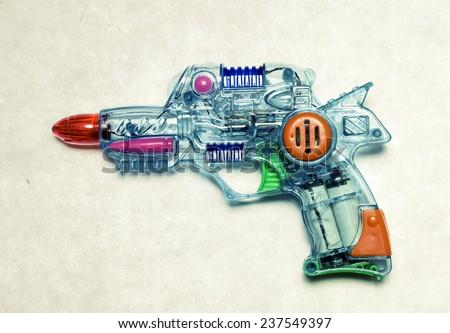 retro ray gun  - stock photo