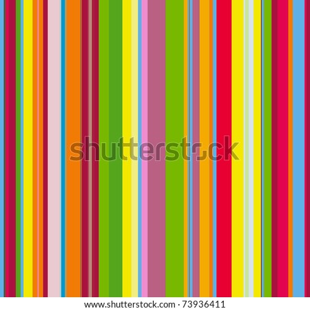 Retro striped background for your design - stock photo