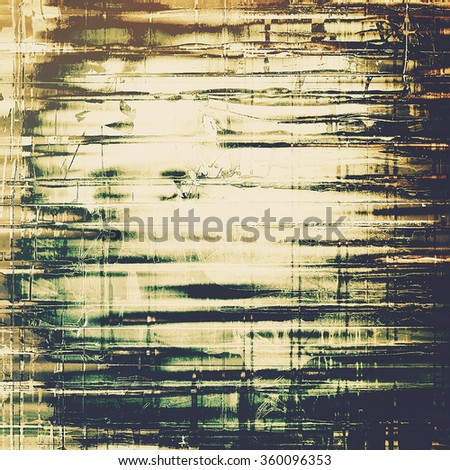 Retro texture. With different color patterns: yellow (beige); brown; black; green; white - stock photo