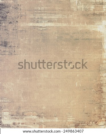 Retro texture. With different color patterns: yellow (beige); brown; gray - stock photo
