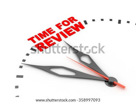 Review time concept - stock photo