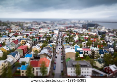 Reykjavik City - stock photo