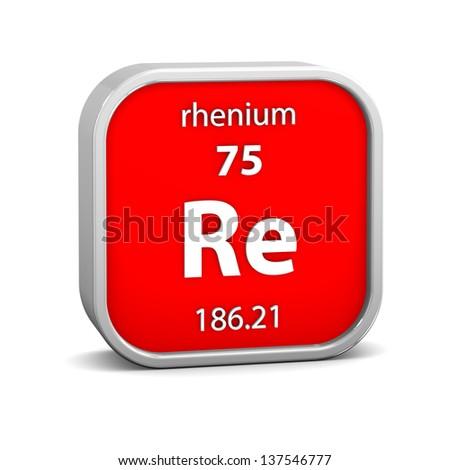 Rhenium Stock Photos, Rhenium Stock Photography, Rhenium ...