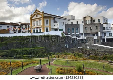 Ribeira Grande, Island of Sao Miguel, Archipelago of the Azores, Portugal, Europe - stock photo