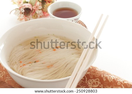 Rice vermicelli, instant noodle  - stock photo