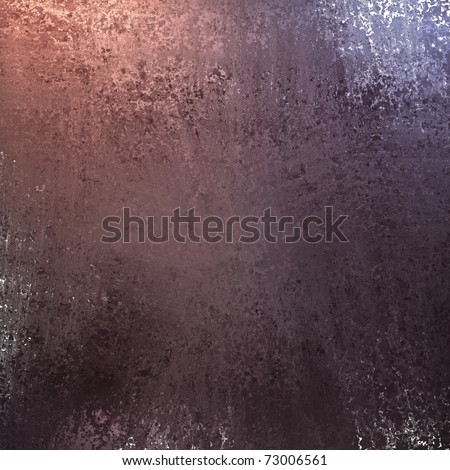 rich dark purple maroon background paper with smeared sponge white and pink grunge texture and highlights - stock photo
