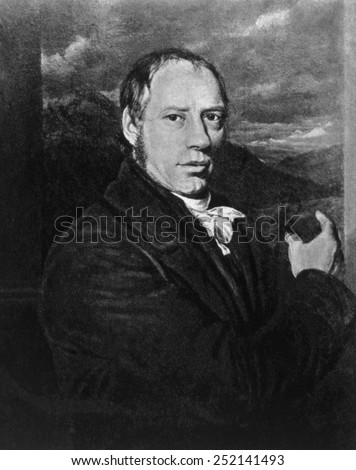 Richard Trevithick (1771-1833) - stock photo