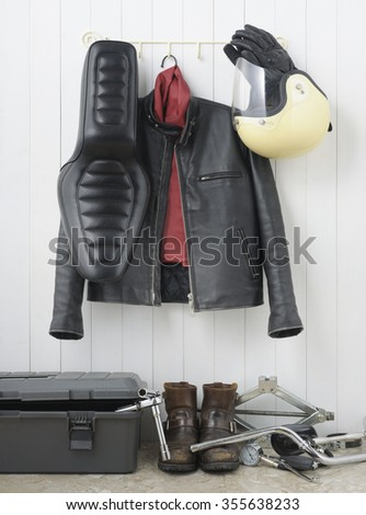 Rider's room  - stock photo