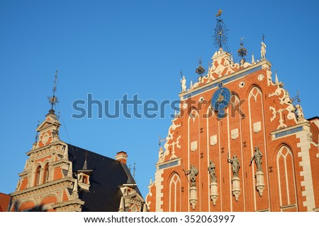 Riga - stock photo