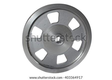 rim isolated on white   - stock photo