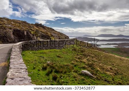 Ring of Kerry, Co Kerry, Ireland. - stock photo
