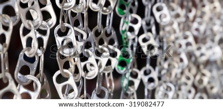 Ring-pull - stock photo