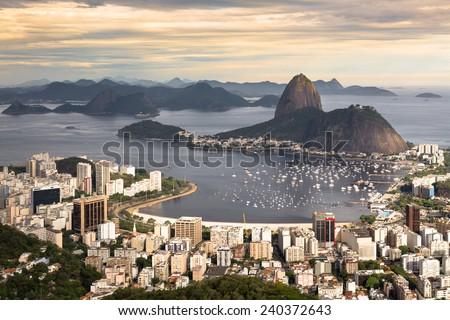 Rio de Janeiro - Brazil - South America - stock photo