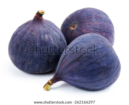 Ripe fig. - stock photo