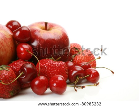 Ripe fruit - stock photo