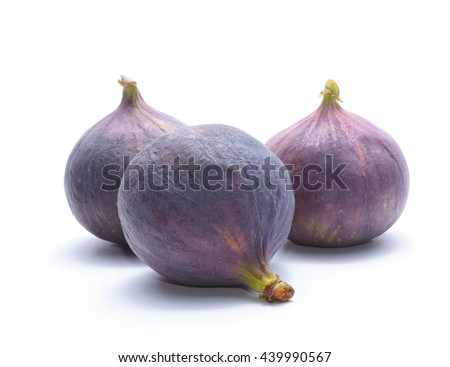 Ripe sweet figs - stock photo
