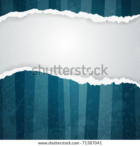 ripped paper - abstract background - stock photo