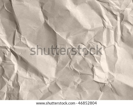 Rippled paper background - stock photo