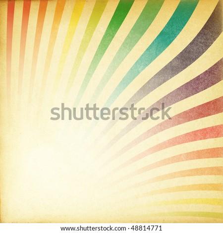 Rise retro image old paper textured diagonal orientation. - stock photo