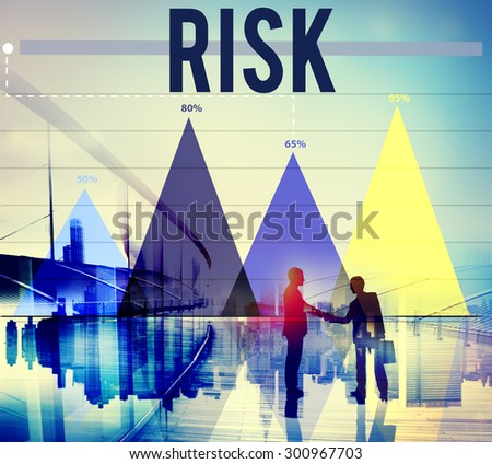 Risk Chance Danger Hazard Safety Security Concept - stock photo