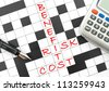 Risk management - stock photo