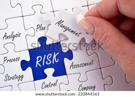 Risk Management - stock photo