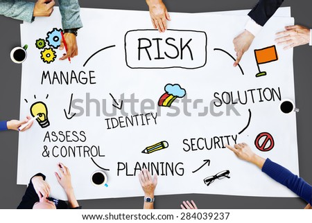 Risk Management Access and Control Weakness Concept - stock photo