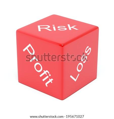 Risk, Profit, Loss - stock photo
