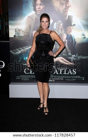 """Rita Wilson at the """"Cloud Atlas"""" Los Angeles Premiere, Chinese Theater, Hollywood, CA 10-24-12 - stock photo"""