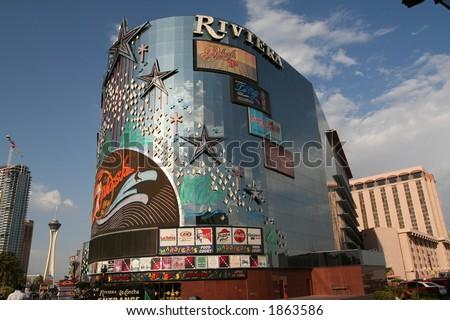 Riviera Hotel in Las vegas - stock photo
