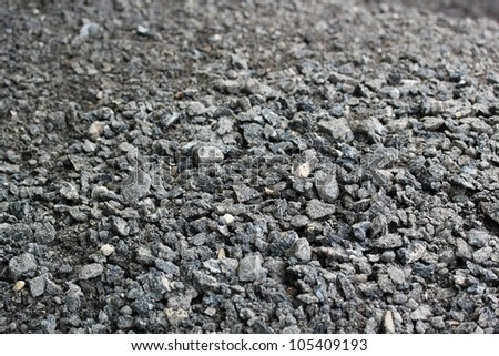 Road construction background - stock photo
