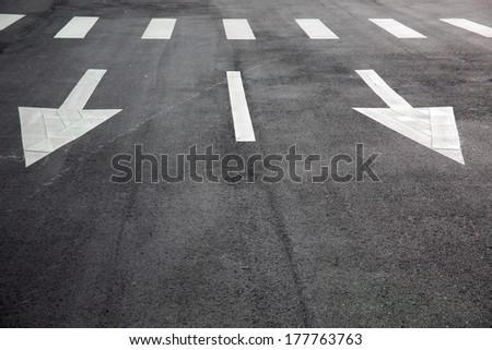 road sigh/traffic sigh - stock photo