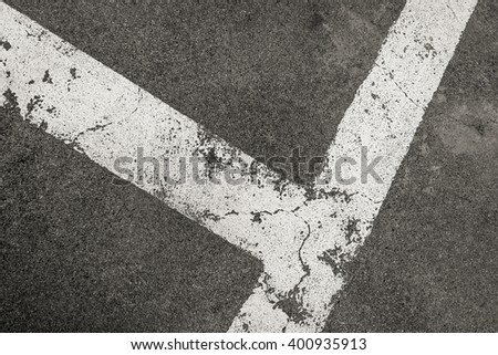 road texture. old asphalt texture with white line. asphalt road texture background. - stock photo