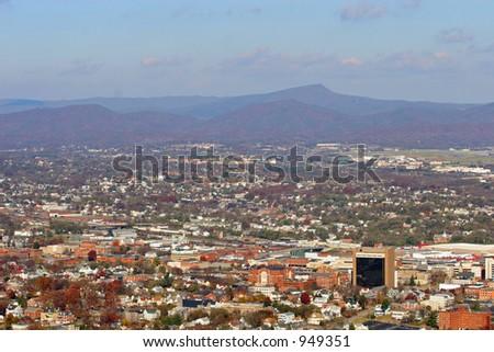 Roanoke Valley - stock photo