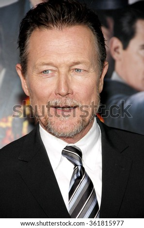"Robert Patrick at the Los Angeles premiere of ""Gangster Squad"" held at the Grauman's Chinese Theatre, Los Angeles, USA on January 7, 2013.  - stock photo"