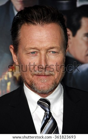 "Robert Patrick at the Los Angeles premiere of ""Gangster Squad"" held at the Grauman's Chinese Theatre in Los Angeles, USA on January 7, 2013. - stock photo"