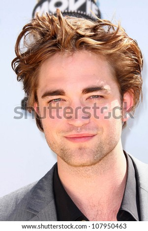 Robert Pattinson  at the 2008 MTV Movie Awards. Gibson Amphitheatre, Universal City, CA. 06-01-08 - stock photo