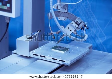 Robot Welding - stock photo