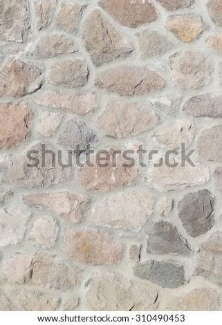 rock and mortar background - stock photo