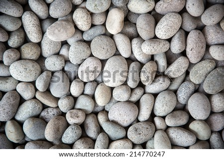 rock garden/zen rock garden - stock photo