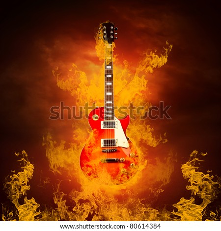Rock Guitar Stock Photos, Images, & Pictures | Shutterstock