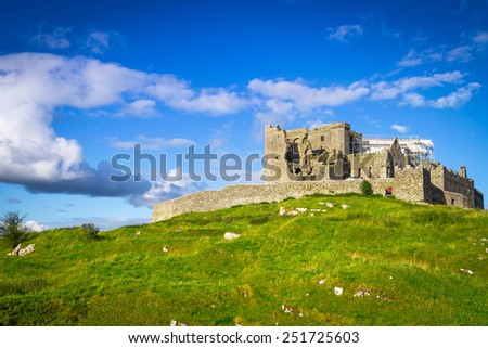 Rock of Cashel in Co. Tipperary, Ireland - stock photo