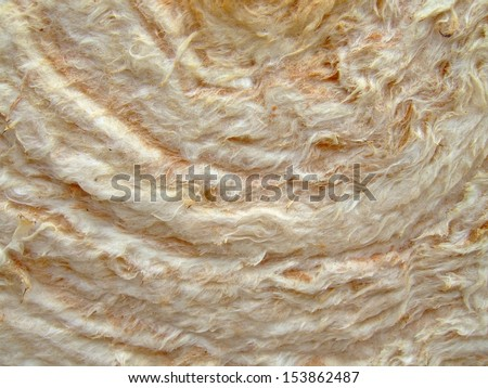 Rock Wool  - stock photo
