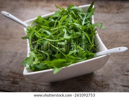 Rocket Salad  - stock photo