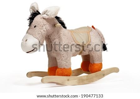 Rocking Horse Toy - stock photo
