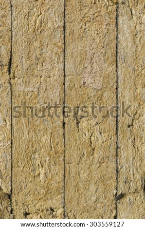 Rockwool texture - stock photo